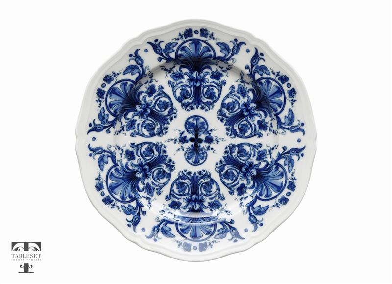 Tuscany Dinner Plate Blue Flowers  sc 1 st  Tableset rentals & Tuscany Dinner Plate Blue Flowers - Tableset luxury rentals