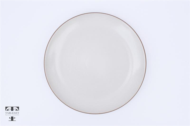 sc 1 st  Tableset Rentals & Organic Opaque White Dinner Plate - Tableset luxury rentals